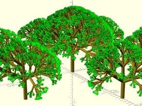 Imperfect Random Fractal Tree