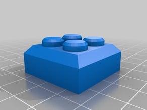 Pedestal cuadrado 2x2