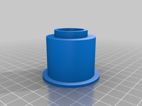 1.5 inch PVC to Nerf adaptor