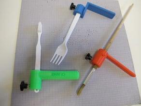 Soporte de mano/ Hand support to easy grip