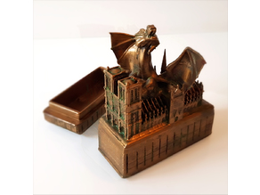 Notre-Dame and the dragon box.