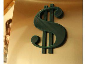 Fridge Magnet - Dollar Sign