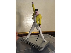 Freddie Mercury Easy to Print