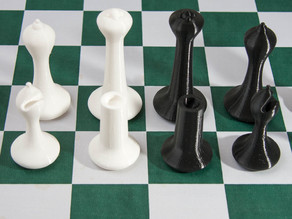 Chess Set Staunton Modern 1