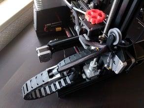Ender 3 Lower Filament Guide (608 bearing)