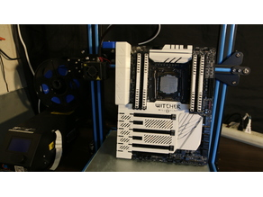 X99A SLI Plus Mobo shroud Witcher themed