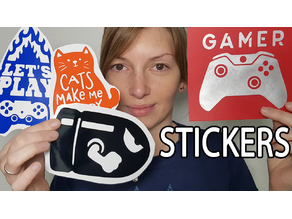 how to make stickers / Faire des stickers