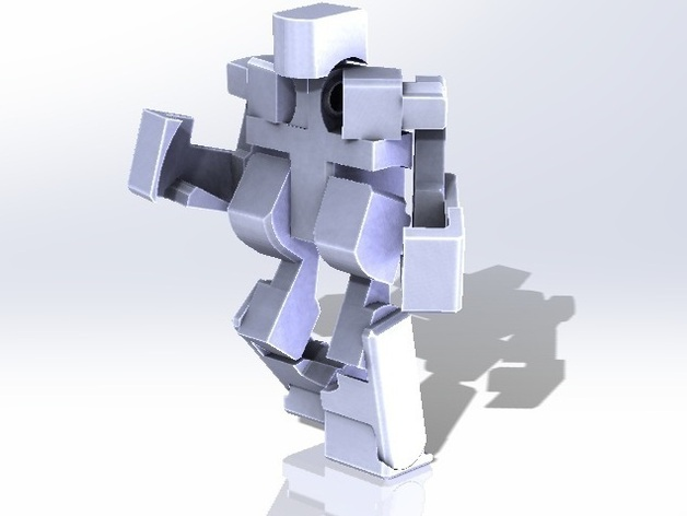 Blockbot V3.1 by msruggles - Thingiverse
