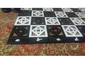 chess board alphabet