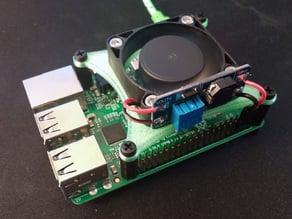 Raspberry Pi 40mm Fan Mount / Bracket