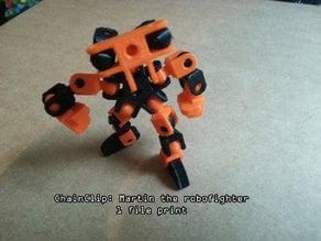 ChainClip. Martin the robofighter