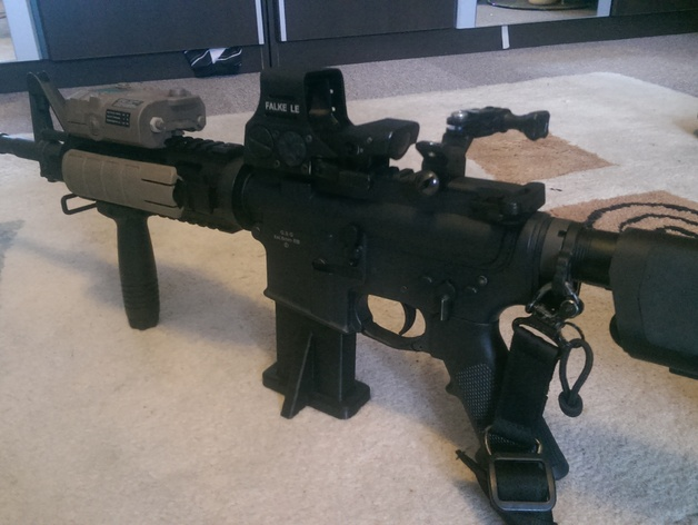 Ar 15 Magazine Stand Real And Airsoft By Tyrai Tac