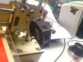 Printrbot LC fan mount (laser cut)