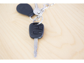 Buttons for Yaris remote key