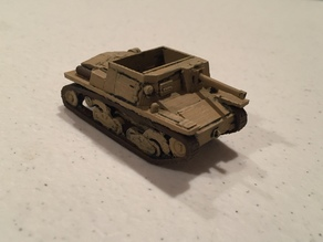 1/72nd Semovente 47/32 for low detail printers