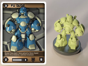 OBG Infantry Fu Dude (with support)