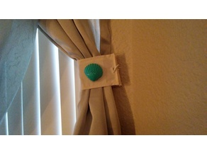 Sea Shell Curtain Tie Back