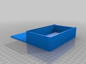 My Customized Parametric Box with Sliding Lid 80x140x30