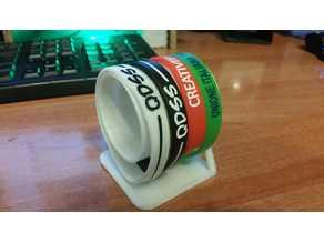rubber bracelet holder