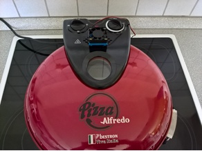 Alfredo Pizzaofen Lüfterhalter