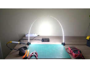 Simple LED Arc