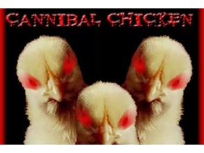 Cannibal Chickens Riding Gnarly Beasts, low detail