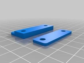 Flashforge Creator Pro / PowerSpec 3D Pro 2 Door hinge hook replacements