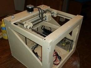 CoreXY Style CNC cut Printer