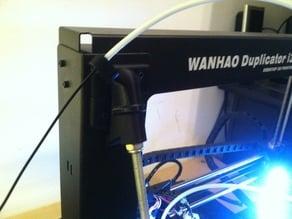 Duplicator Z axis brace top cover filament guide tubing mod