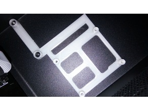 Shorter MOSFET Mounting Bracket for Monoprice Maker Select V2, Cocoon Create, Wanhao i3