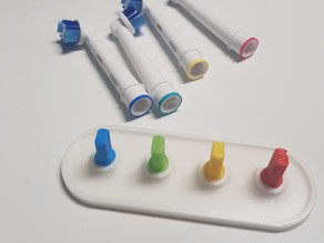 Configurable Oral-B Toothbrush Head Stand