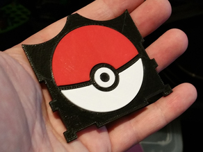 Pokemon cover for geared deck box