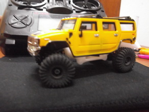 Nano rock crawler kit for Yokomo NanoQlo