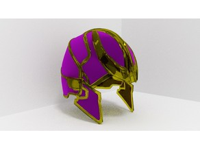 Thanos Helmet MCU