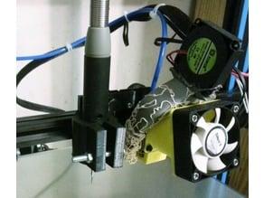 flexible shaft dremel handpiece holder for ender3, cr10