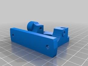 Compact Bowden Extruder, direct drive 1.75mm remix