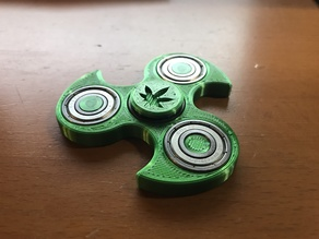 Marijuana spinner cap