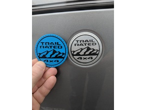 Jeep Wrangler JL Trail Rated Badge 2018