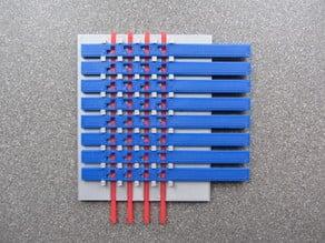 mechanical 3-to-8 decoder
