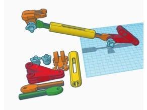 Gopro turnbuckle stabilizer mount