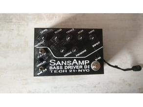 pedal sansamp drive bass DI