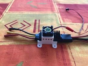 ESC mount for Jeti Mezon Pro 85 with 25mm fan