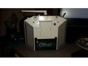 Taranis Q X7 Battery Door and 18650 mount