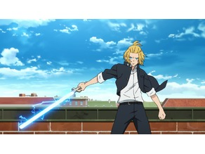Fire Force Excalibur Sword