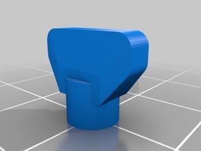 My Customized Finger-Friendly Snap-On Hex Socket (a.k.a. Bolt Ears)