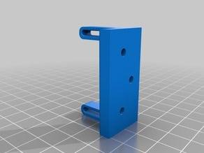 Variable height servo mount