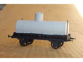 "Russian ""normal"" tank car 1:87 (H0)"