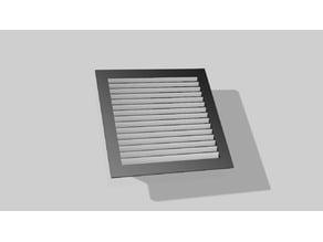 Ventilation Cover Louver Air 115mm