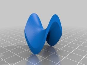 Hyperbolic Surface Generator