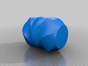 Wacky-Curved Vase